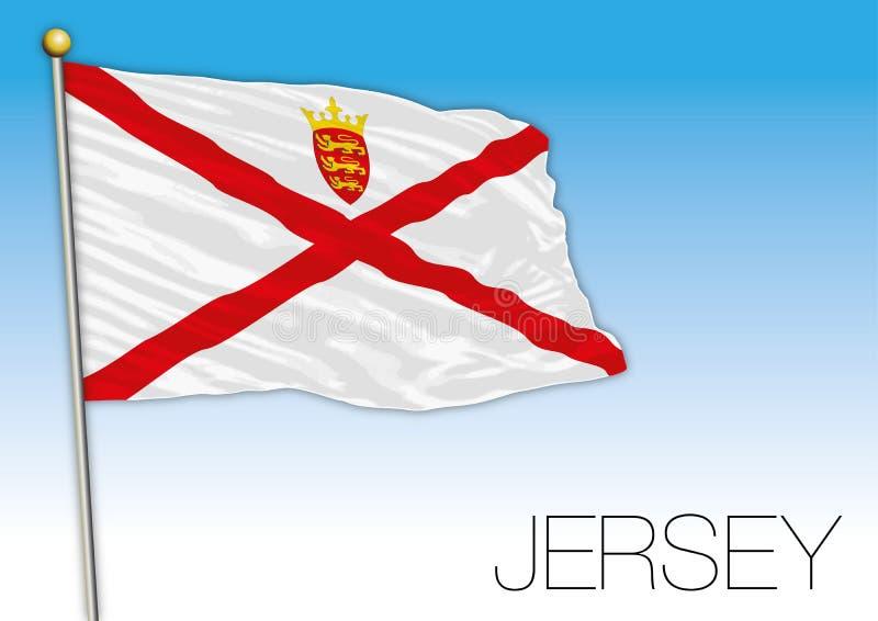 Drapeau d'île de débardeur, Royaume-Uni, illustration de vecteur illustration de vecteur
