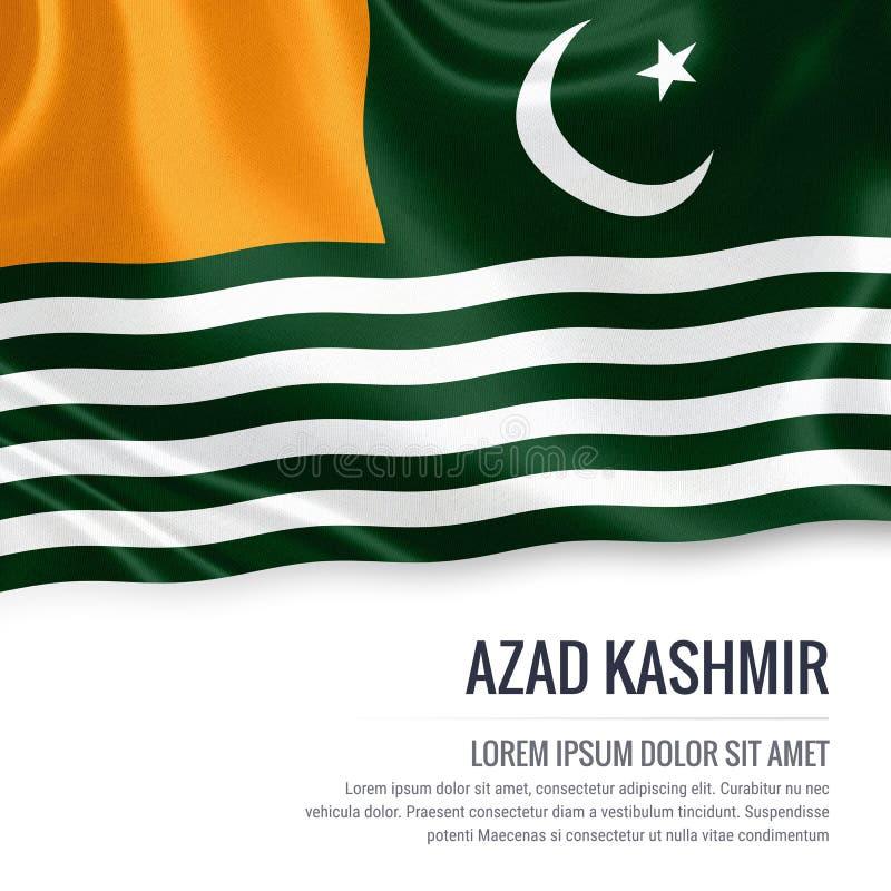 Drapeau d'Azad Kashmir d'état du Pakistan illustration libre de droits