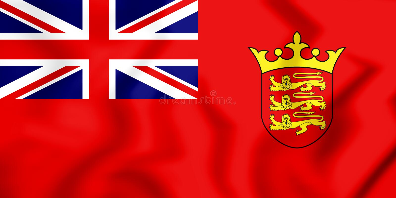 drapeau 3D civil du débardeur illustration libre de droits