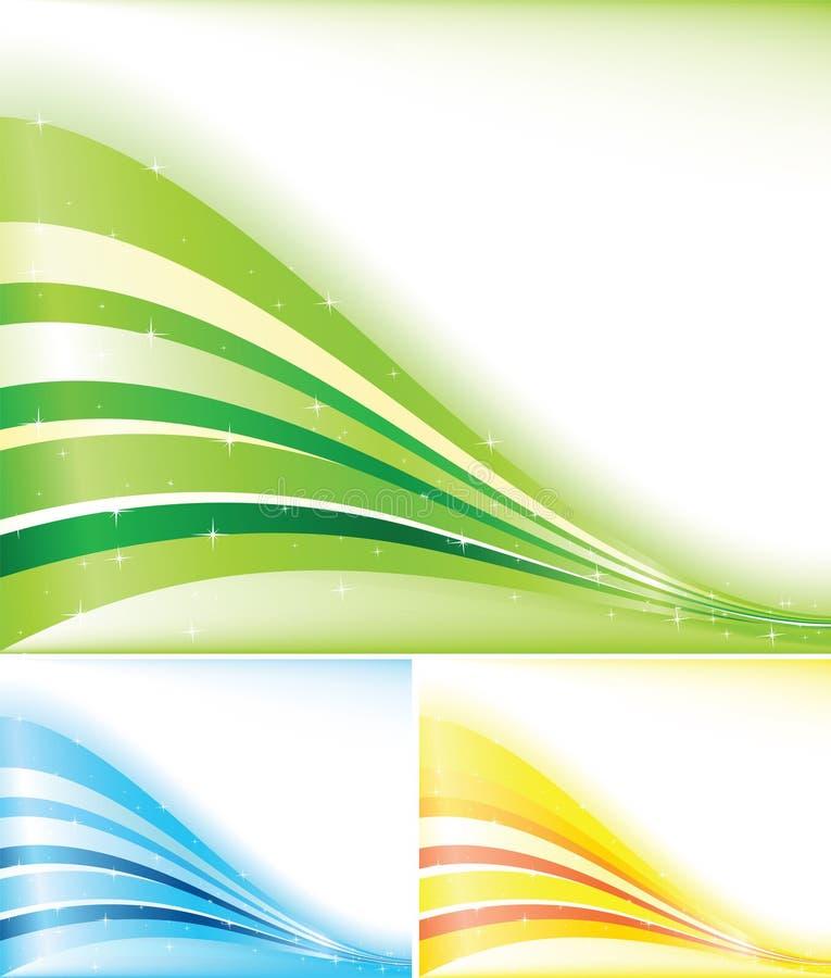 Drapeau de couleur de vecteur illustration de vecteur