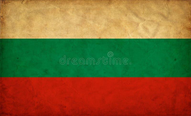 Drapeau de grunge de la Bulgarie illustration libre de droits