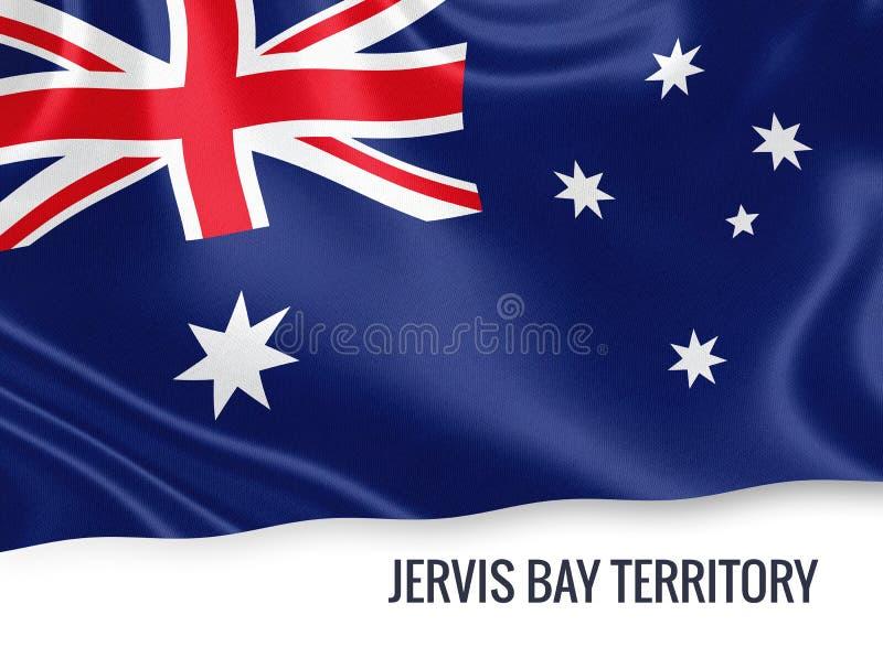 Drapeau de Jervis Bay Territory d'état australien illustration de vecteur