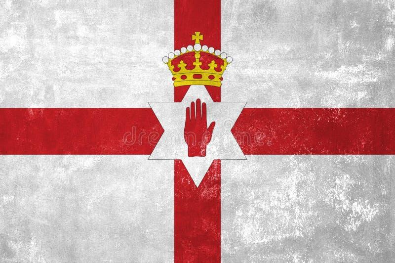 Drapeau de l'Irlande du Nord image libre de droits