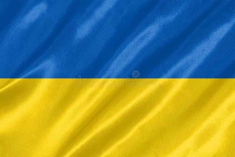 Drapeau de l'Ukraine photos libres de droits