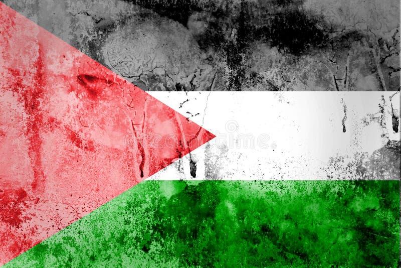 Drapeau de la Palestine image stock