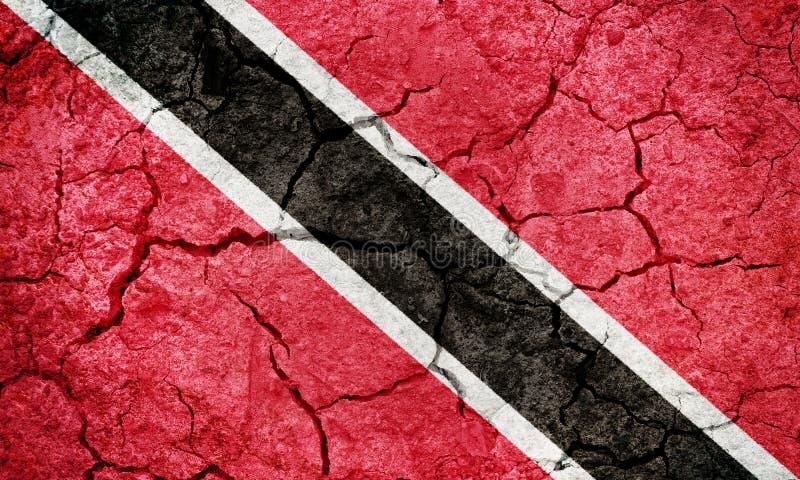 Drapeau de la r?publique de Trinit?-et-Tobago image libre de droits