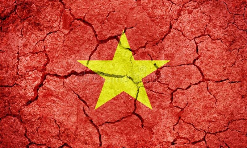 Drapeau de la r?publique Socialiste du Vietnam illustration libre de droits
