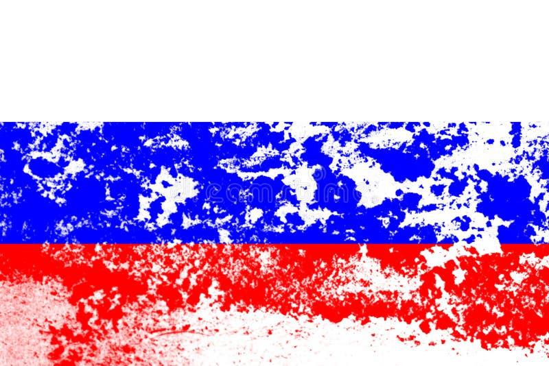 drapeau de la russie à texture modèle de conception photos stock
