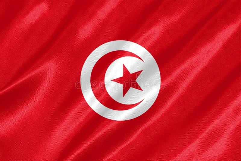 Drapeau de la Tunisie photo libre de droits