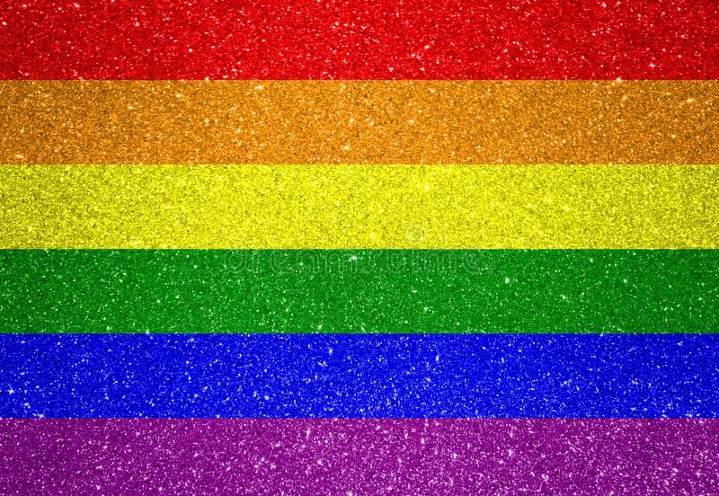 Drapeau de LGBT photographie stock libre de droits