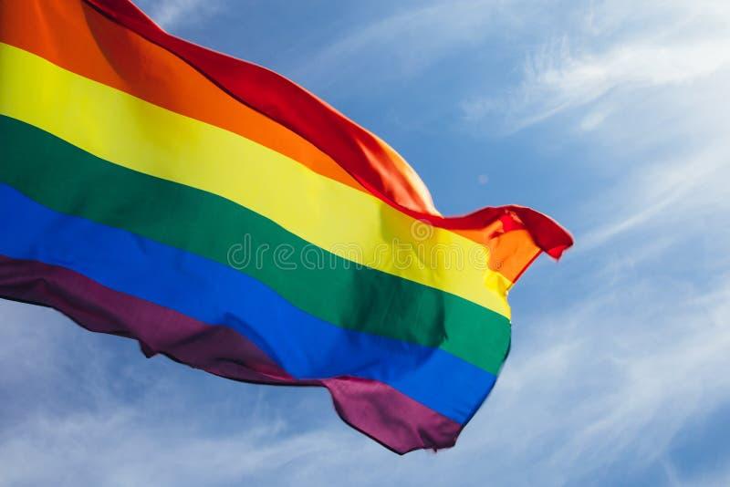Drapeau de LGBT images libres de droits