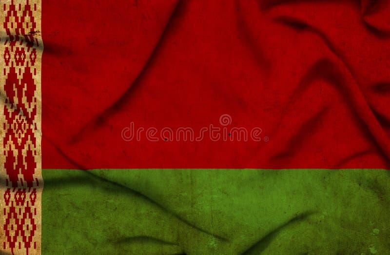 Drapeau de ondulation du Belarus illustration libre de droits