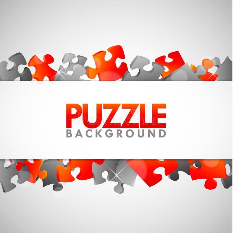 Drapeau De Puzzle Images stock