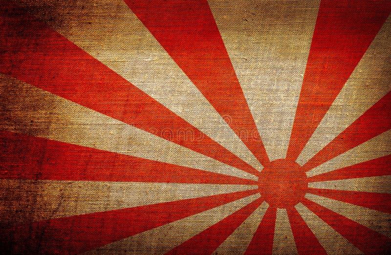 drapeau de soleil levant japon illustration stock. Black Bedroom Furniture Sets. Home Design Ideas