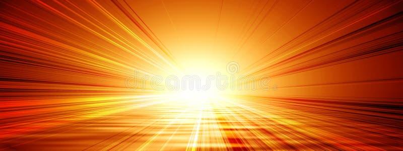 Drapeau de Sun illustration libre de droits