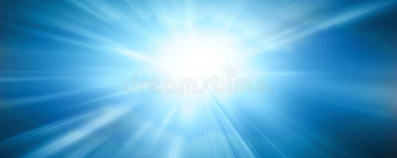 Download Drapeau de Sun illustration stock. Illustration du bleu - 8655947