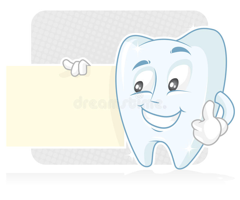 Drapeau dentaire photos stock
