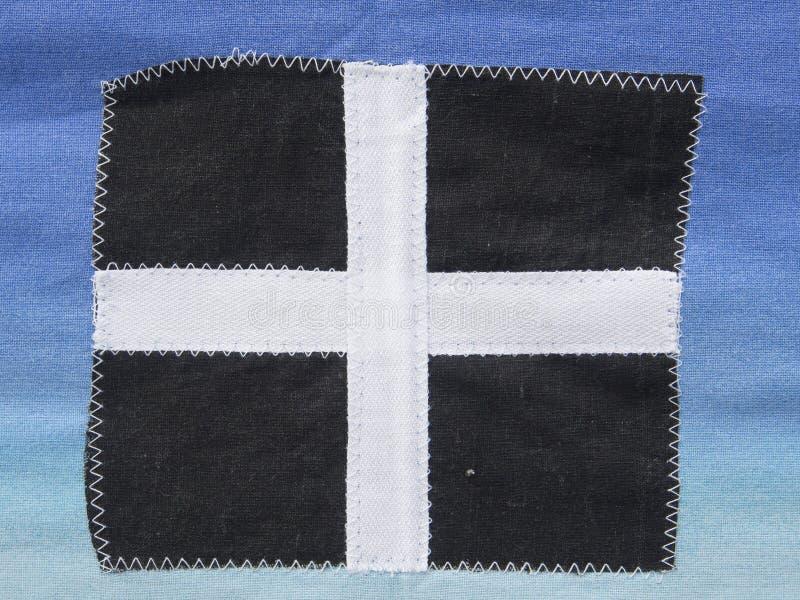 Drapeau des Cornouailles image libre de droits