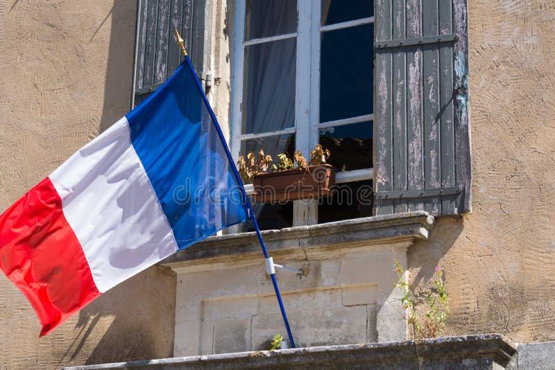 Drapeau des Frances (Français : Les français de Drapeau) est un drapeau tricolore f photos libres de droits