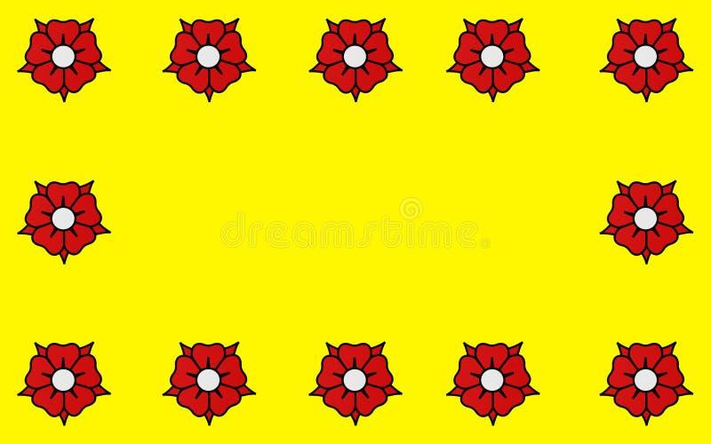 Drapeau des LHay-les-roses, France illustration libre de droits