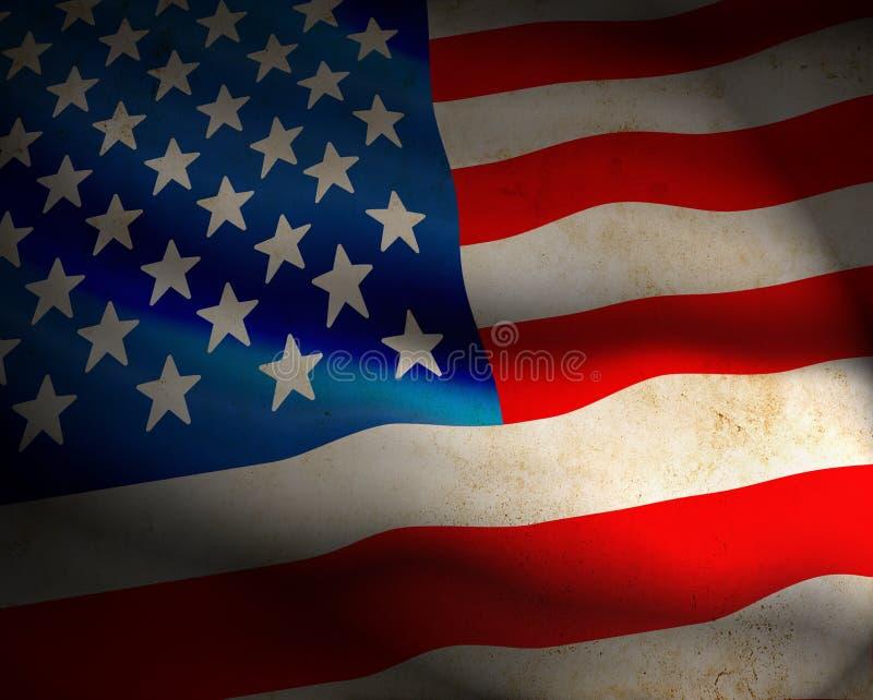 Drapeau des USA illustration libre de droits