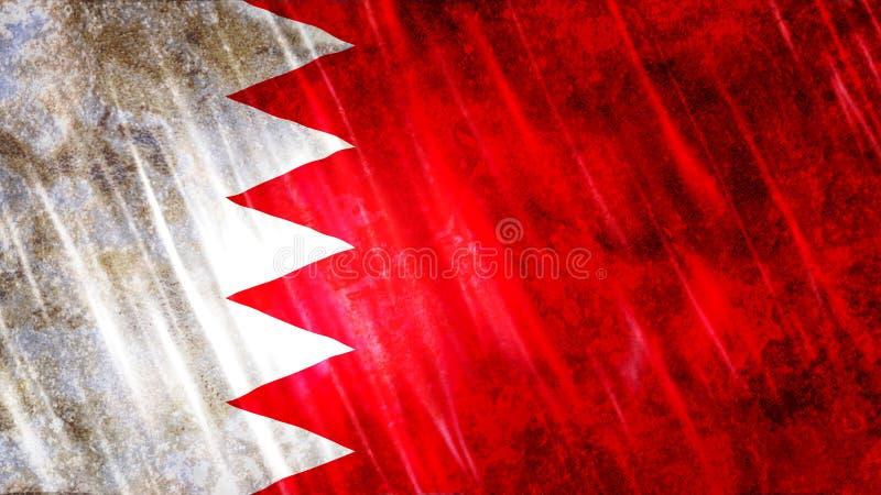 Drapeau du Bahrain photo stock