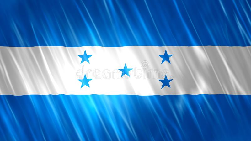 Drapeau du Honduras illustration libre de droits