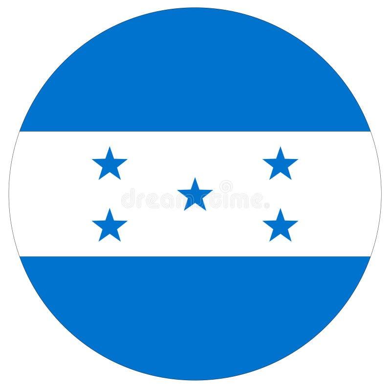 Drapeau du Honduras - république du Honduras illustration libre de droits