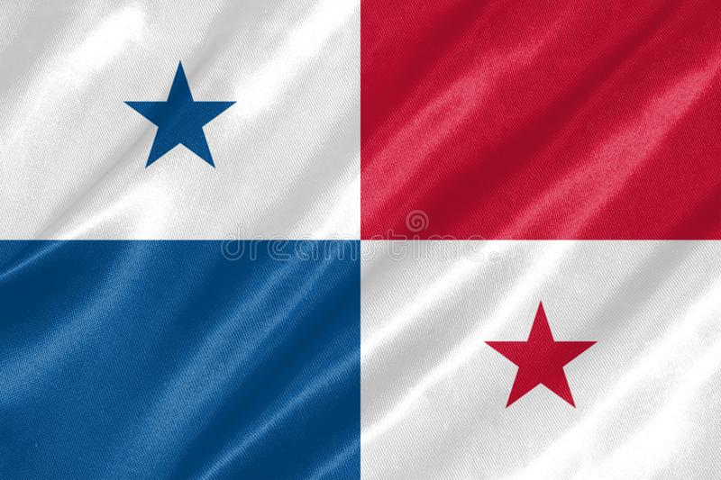 Drapeau du Panama illustration libre de droits