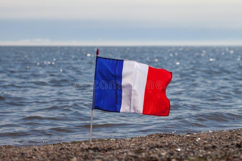 Drapeau français. image libre de droits