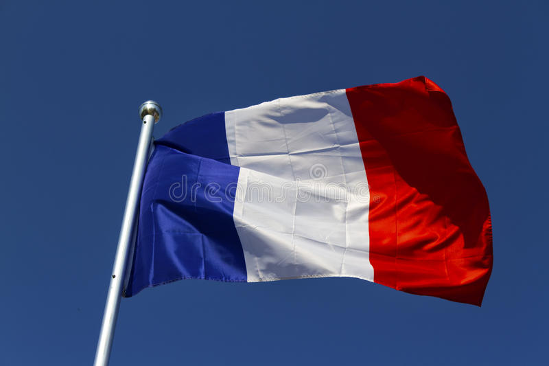Drapeau français photos libres de droits