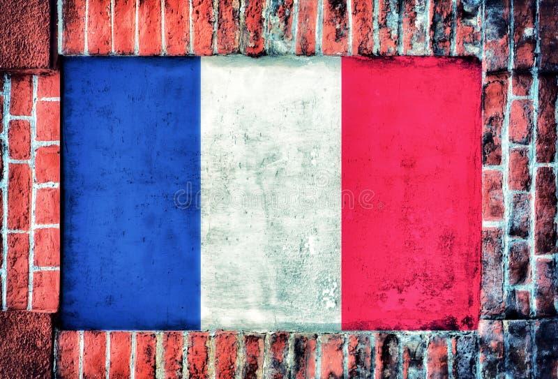 Drapeau français photos stock