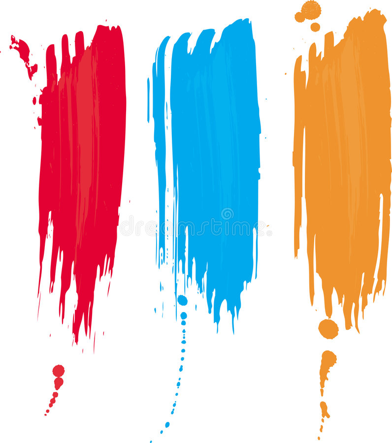 Drapeau grunge abstrait illustration de vecteur