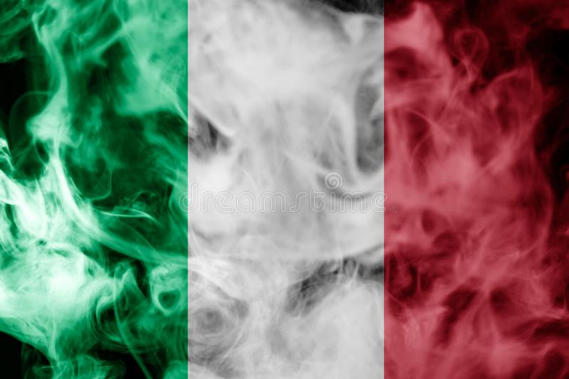 Drapeau national de l'Italie illustration de vecteur