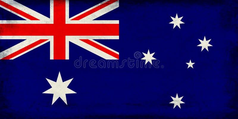 Download Drapeau National De Vintage De Fond D'Australie Photo stock - Image du patriotique, star: 87701744