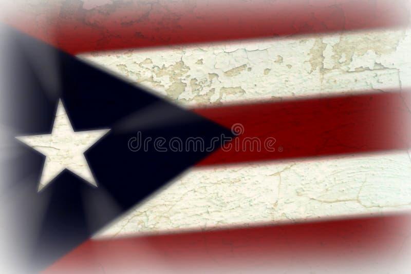 Drapeau portoricain image stock
