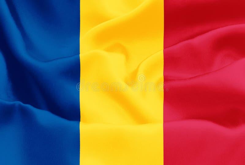 Drapeau roumain - Roumanie images libres de droits