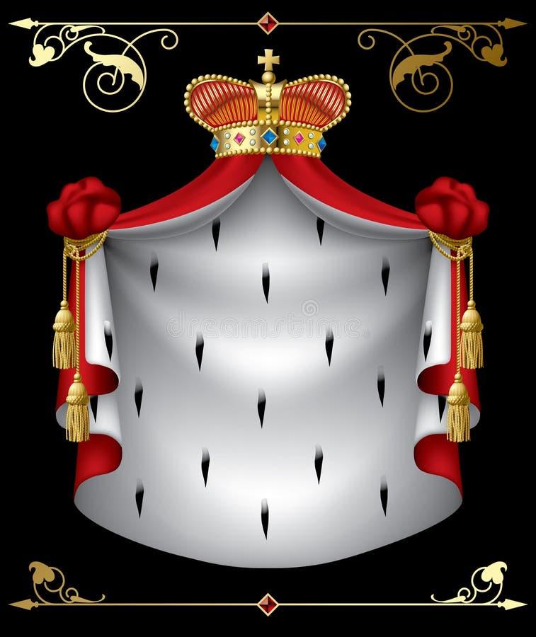 Drapeau royal illustration stock