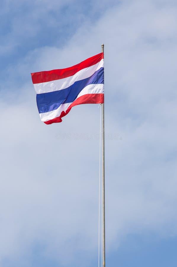 Drapeau thaïlandais image stock