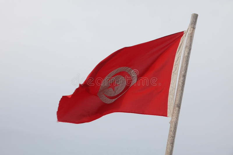 Drapeau tunisien photos stock