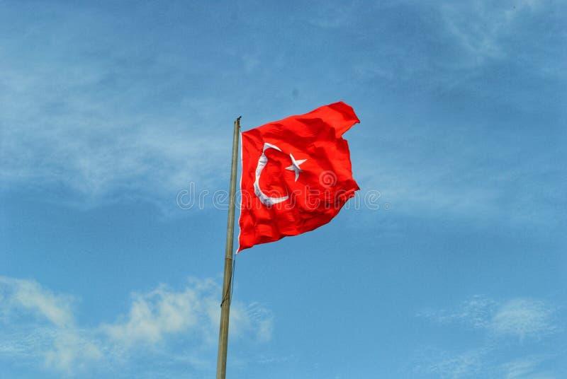 Drapeau turc photos libres de droits