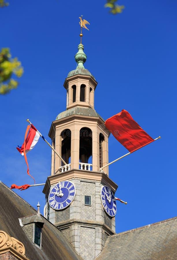Drapeaux nationaux néerlandais images libres de droits