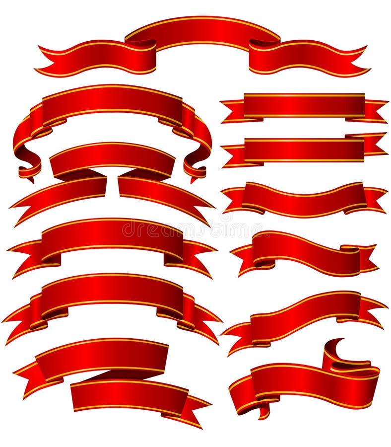 drapeaux réglés illustration de vecteur
