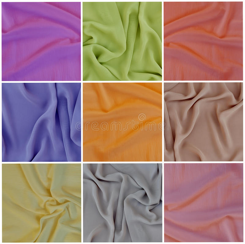 Free Draped Fabric, Set Stock Photography - 23719212