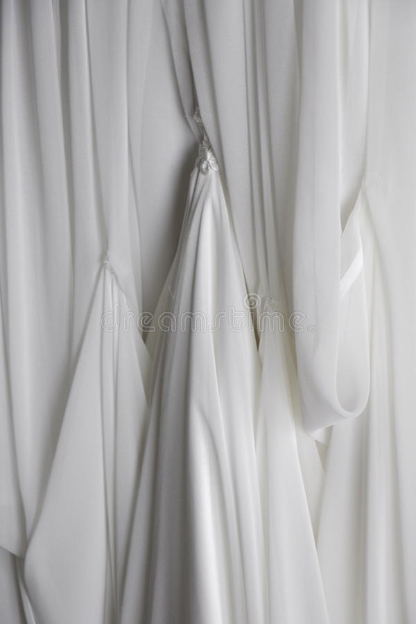 Download Draped White Fabric Background Stock Photo - Image: 25450810