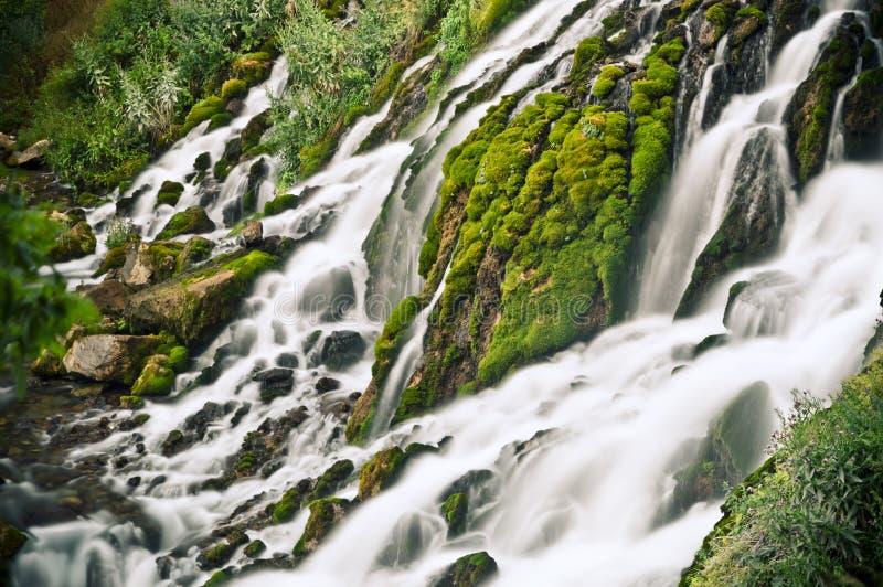 Draperend Water royalty-vrije stock foto's