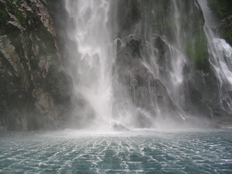Draperende Waterval royalty-vrije stock foto
