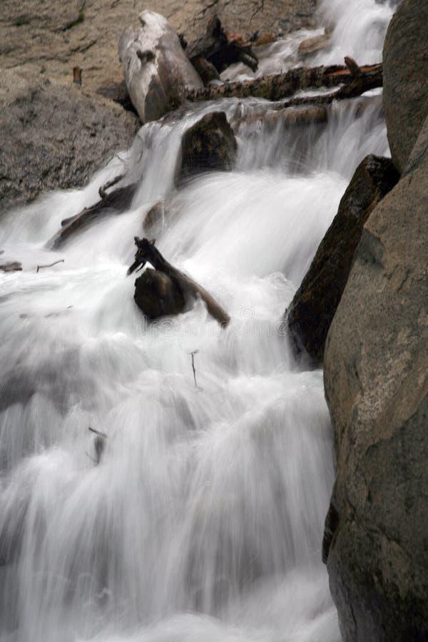 Draperende waterval royalty-vrije stock foto's