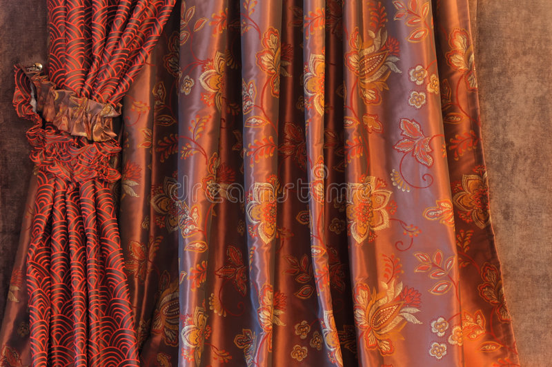 Draperie Images stock