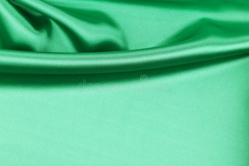 Drapery de seda verde foto de stock royalty free